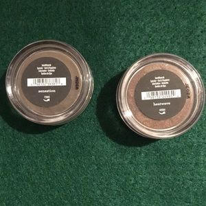 Loose powder eyeshadow bundle from BareMinerals